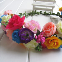 Excellent quality classical silk hawaii flower lei
