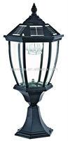 Hot sale cheap solar pillar lamp/outside post light
