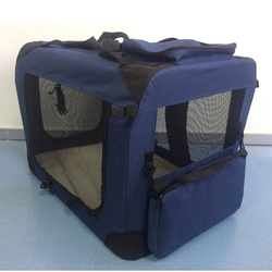 Button Carry Cage Dog Crate Soft