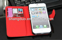 Leather case phone case for iphone 5