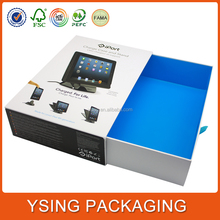 Cardboard rigid setup drawer style with sleeve Wholesale Printed Electronic Packaging Box