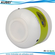 bluetooth wireless mini portable speaker with led and FM radio