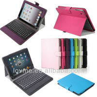 Stand Leather Case Cover With Bluetooth Keyboard Case Cover for iPad mini