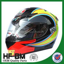 high quality motorcycle racing helmet with Fibreglass aramid Carbon shells