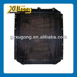 Komatsu spare parts . komatsu PC200-7 radiator, high quality & cheap price radiator