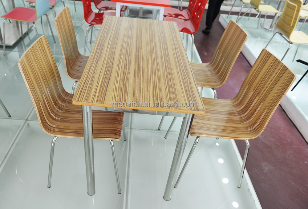 Guangzhou furniture bentwood dining chairs and table for