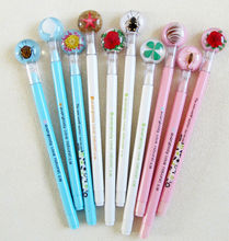 new design mini ball pen refill manufacturers with real insects embedded as Christmas gifts