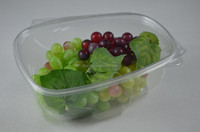 disposable clamshell plastic fruit packaging