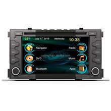 Touch Screen Car DVD GPS Navigation System For Kia Soul
