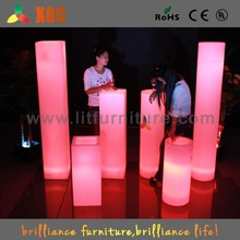 Event party furniture,led rental furniture,LED party decorative pillars