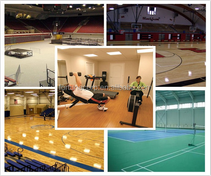 Best Price PVC Sports Flooring in Roll
