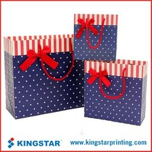 customized printed luxury promotional paper bag