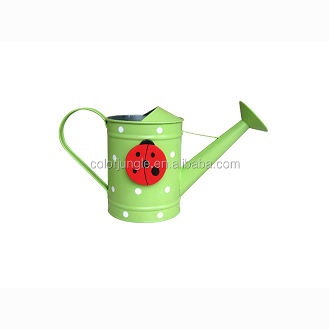 Best Quality Decorative Tin Kids Watering Cans Bulk Hot