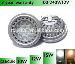 hot sale in italy ar111 g53 9w lampada led 3 years warranty