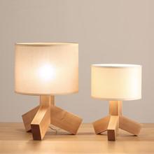 IKEA style Jack desk lamp wooden table lights wedding centerpieces