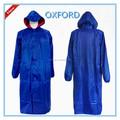 Hot vente adulte, matériau oxford manteau de pluie avec des manches longues