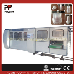 Suitable for foming PLC sheet plastic cup machine