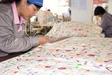 100% Cotton bloomer handmade multi-function blanket baby quilt patterns