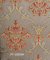 New Classic high foaming non-woven decorative economic european wallpaper