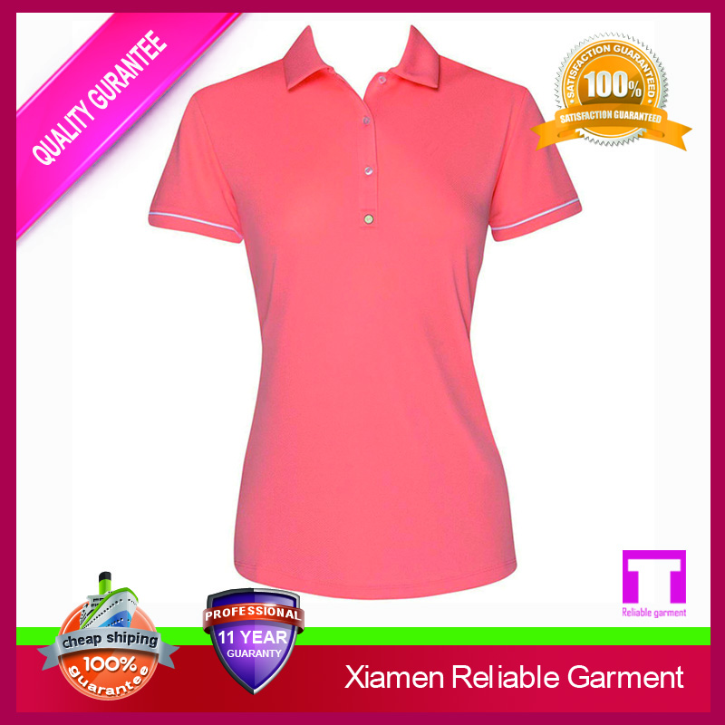 Wholesale Plain Polo T Shirts For Printing Golf Women Polo