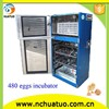 Holding 480 eggs automatic farm ostrich small egg incubator CE proved