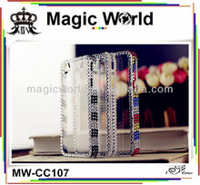 Cheap rhinestone mobile phone cover for samsung