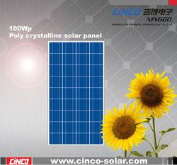 100W cheap solar panel,sunpower solar panel