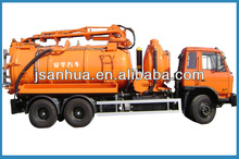 Top Quality 6x4 10000l or 10CBM Vacuum Suction Sewage Truck Or Vacuum Suction Sewage Vehicle With Strong Power Liquid Ring Pump