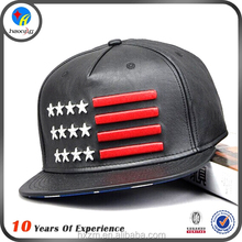 custom leather snapback caps wholesale
