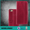 Customized leather case covers for iPhone 6S Plus phone accessories