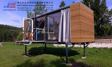 fast installation container office,light steel container building
