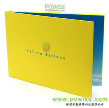 2014 new 2.4inch LCD Greeting Card/LCD advertising book/Video Brochure