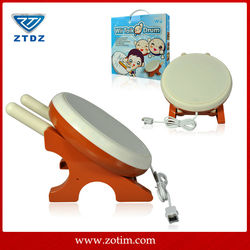 China professional game accessories factory taiko drums for wii sale