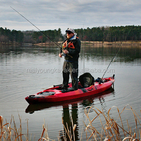 Professional Sit On Top Pedal Kayak Fishing With Rudder