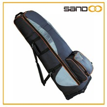 Alibaba best sale fashion large golf bag travel cover with wheels