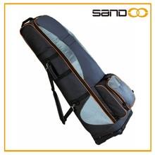 Best sale fashion luxury large golf bag shoulder strap with wheels