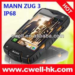 4inch IPS IP68 waterproof dual sim 3G wifi rugged android phone