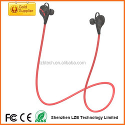 Super quality bluetooth fashion earphone sport bluetooth earphone stereo bluetooth earphone for cellphone