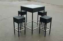 bar furniture for sale outdoor bar table with 4 chairs together