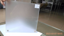 China products 6mm ultra clear frosted glass