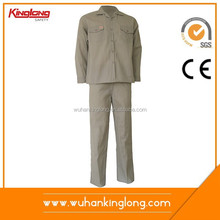 65/35 plain fabric pant & shirt painting uniform