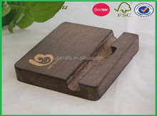 Eco friendly factory price top quality oak wood wooden menu holder,wooden menu holder for sale