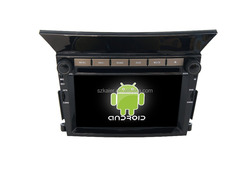 Quad core!car dvd with mirror link/DVR/TPMS/OBD2 for 6.2 inch touch screen quad core 4.4 Android system Honda Pilot