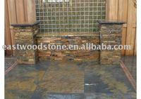 stone veneer slate/slate wall panel/stone panel