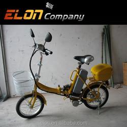 2015 city folding electric bicycle kids bike (E-TDE06F)