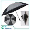 High quality 32 inches black large golf umbrella