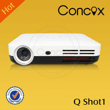 Concox Q Shot1 home theater system led lcd projector led projector 1920x1080