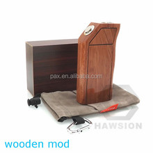 2014 best full mechanical mod box mod e cig Alibaba express newest wooden box mod