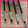 YASHI Excellent Quality 4pcs Nylon Cosmetic Makeup Brush Tools for logo printed