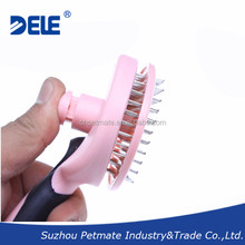 2015 New Product Pet Grooming Tool Stainless Steel Pin Brush